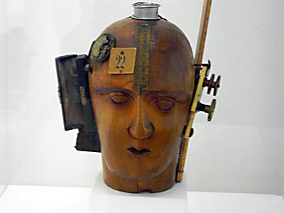Mechanischer Kopf von Raoul Hausmann, 1919, Foto: urb