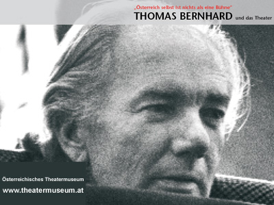 Thomas Bernhard whrend einer Probe zu Heldenplatz am Burgtheater 1988; Foto: IMAGNO/ONB/Harry Weber