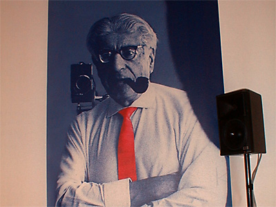 Der Philosoph Ernst Bloch; Foto: urb