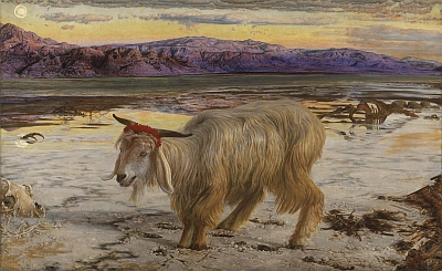 The Scapegoat von William Holman Hunt
